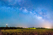 Milkyway galaxy above Corolla on the Outer Banks of NC.