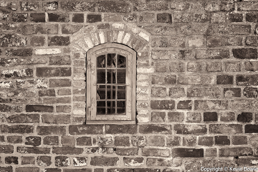 Window and wall, Akershus Slott, Oslo.