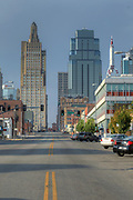 Kansas City Architecture, September, 2013. Kansas City, Missouri architecture and skyline. Photo by Colin E. Braley