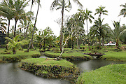 Hilo, Hawaii, USA.Scenic city park