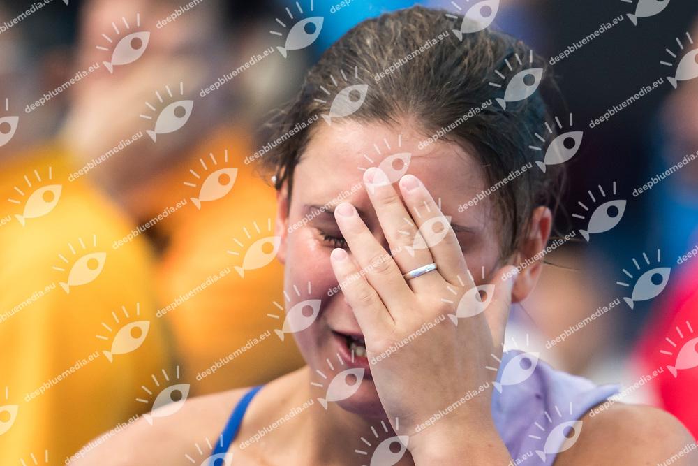 BERTOCCHI Elena ITA bronze medal<br /> Diving<br /> Womens' 1m springboard final<br /> 15/07/2017 <br /> XVII FINA World Championships Aquatics<br /> Duna Arena<br /> Photo @ Giorgio Perottino/Deepbluemedia/Insidefoto