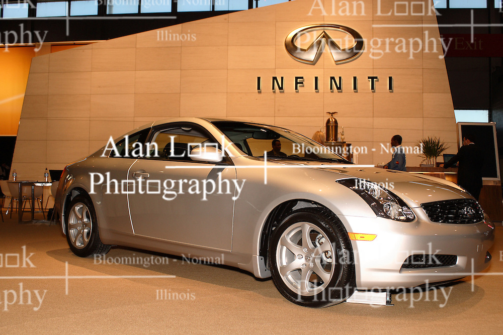 08 February 2007: 2007 Infinity G Coupe. The Chicago Auto Show is a charity event of the Chicago Automobile Trade Association (CATA) and is held annually at McCormick Place in Chicago Illinois.