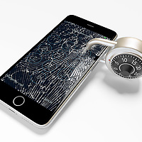 Security is tight and padlocking your phone may be the only way to protect it from identity thieves!