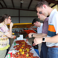 The Monroe County Chamber of Commerce hosted its third annual crawfish boil for existing industries at the Monroe County Airport April 13 as a way to encourage networking.
