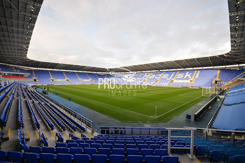 Madejski Stadium before the EFL Sky Bet Championship match between Reading and Ipswich Town at the Madejski Stadium, Reading, England on 9 September 2016. Photo by Adam Rivers.