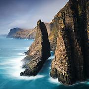 Geituskoradrangur, Vágar, Faroe Islands