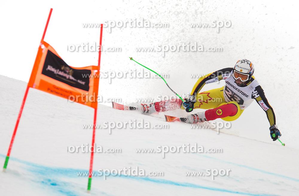 28.01.2016, Kandahar, Garmisch Partenkirchen, GER, FIS Weltcup Ski Alpin, Abfahrt, Herren, 1. Training, im Bild Manuel Osborne-Paradis (CAN) // Manuel Osborne-Paradis of Canada competes in his 1st training run for the men's Downhill of Garmisch FIS Ski Alpine World Cup at the Kandahar course in Garmisch Partenkirchen, Germany on 2016/01/28. EXPA Pictures © 2016, PhotoCredit: EXPA/ Johann Groder