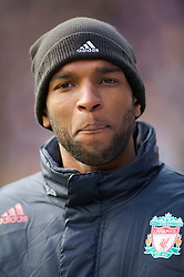 BIRMINGHAM, ENGLAND - Sunday, April 4, 2010: Liverpool's substitute Ryan Babel before the Premiership match against Birmingham City at St Andrews. (Photo by David Rawcliffe/Propaganda)