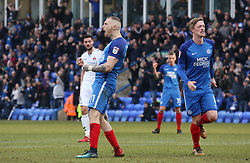 Marcus Maddison of Peterborough United celebrates scoring his goal - Mandatory by-line: Joe Dent/JMP - 10/03/2018 - FOOTBALL - ABAX Stadium - Peterborough, England - Peterborough United v Charlton Athletic - Sky Bet League One