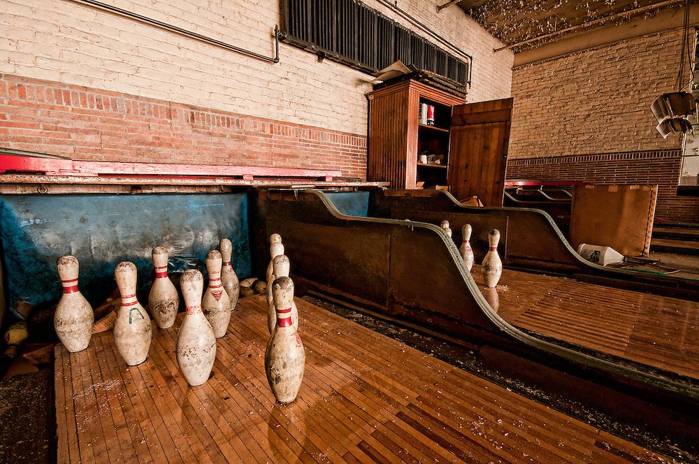 The Abandoned Scranton Lace Company in Scranton PA.