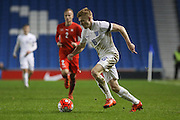 Duncan Watmore (Sunderland), England U21 during the UEFA European Championship Under 21 2017 Qualifier match between England and Switzerland at the American Express Community Stadium, Brighton and Hove, England on 16 November 2015. Photo by Phil Duncan.