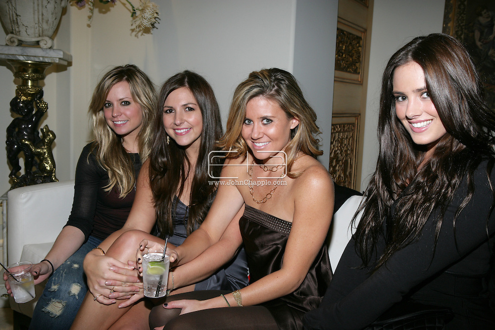 9th February 2009, Beverly Hills, California. Ally Sims with her entourage at Bondi Blonde's Style Mansion International Party, which was hosted by singer Katy Perry. PHOTO © JOHN CHAPPLE / REBEL IMAGES.tel: +1-310-570-910