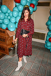 Ronni Ancona at the launch of the Fortnum & Mason Christmas & Other Winter Feasts Cook Book by Tom Parker Bowles held at Fortnum & Mason, 181 Piccadilly, London, England. 17 October 2018.
