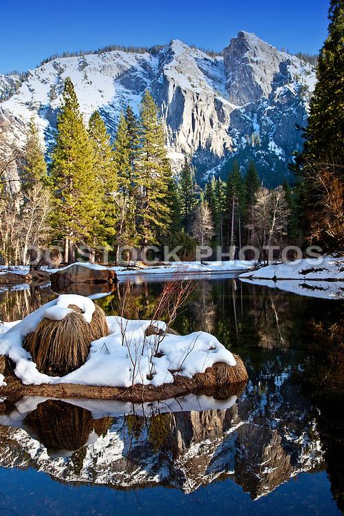 Yosemite National Park At Winter