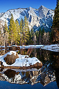 Yosemite National Park At Winter