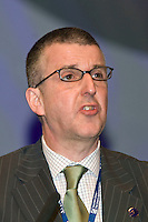 Martin Reed, Executive, speaking at the NUT Conference 2008, Manchester...© Martin Jenkinson, tel 0114 258 6808 mobile 07831 189363 email martin@pressphotos.co.uk. Copyright Designs & Patents Act 1988, moral rights asserted credit required. No part of this photo to be stored, reproduced, manipulated or transmitted to third parties by any means without prior written permission   NUT08