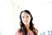 Clara Shih, founder of Hearsay Social, at their offices in San Francisco, Calif., on Monday, November 25, 2013.