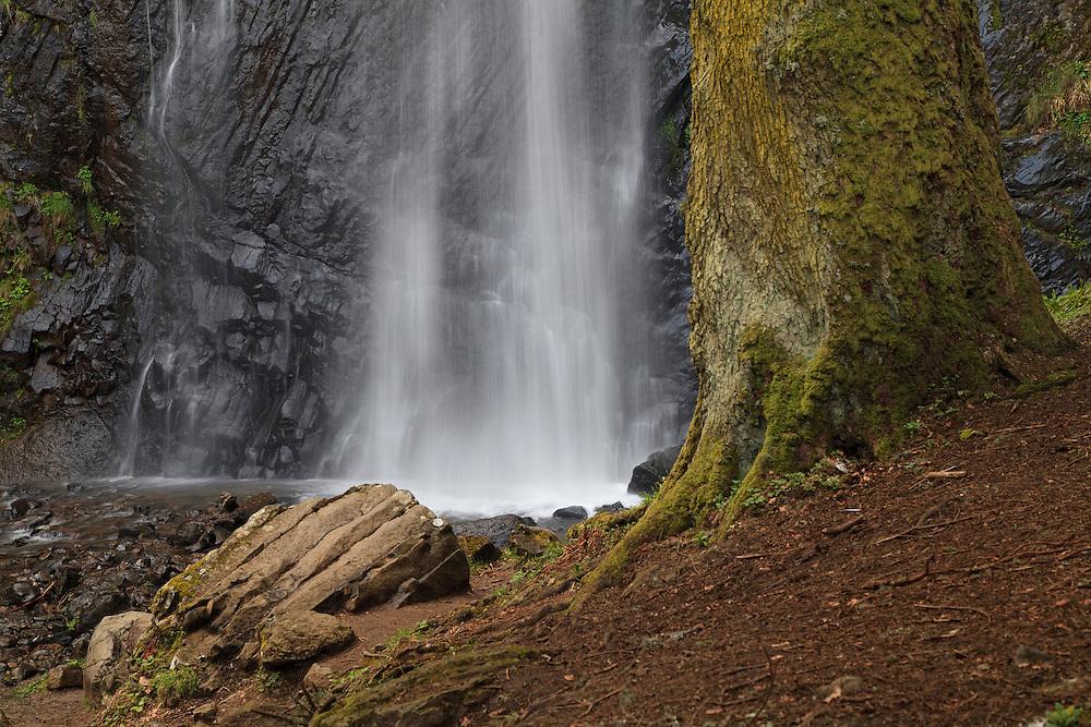Cascade du Quereuih, Mont Dore, PRN des Volcans d'Auvergne, France