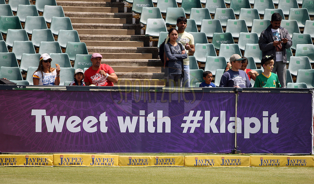 Stadium Branding during match 3 of the Karbonn Smart CLT20 South Africa between Chennai Super Kings and Sydney Sixers held at Wanderers Stadium, South Africa on the 13th October 2012. Photo by Jacques Rossouw/SPORTZPICS/CLT20