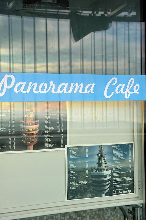 Panorama Cafe auf dem Fernsehturm in Stuttgart
