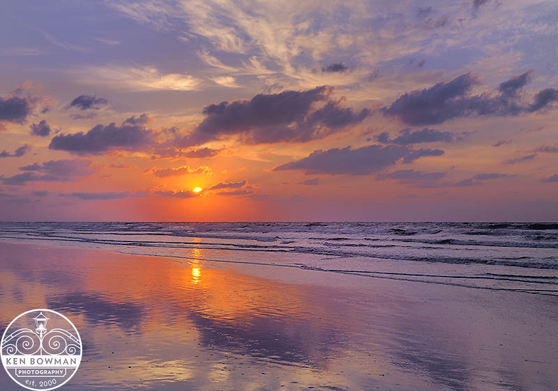 Isle of Palms Labor Day sunrise