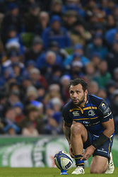 December 16, 2017 - Dublin, Ireland - Isa Nacewa of Leinster team preparing for the penalty during Leinster vs Exeter Chiefs - the  European Rugby Champions Cup rugby match at Aviva Stadium...On Saturday, 16 December 2017, in Dublin, Ireland. (Credit Image: © Artur Widak/NurPhoto via ZUMA Press)