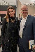 YANA PEEL; HANS ULRICH OBRIST, Frieze Masters 2016, Regent's Park. London,