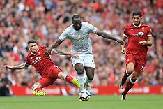 Liverpool v Manchester United - 14 Oct 2017