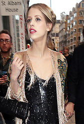 Peaches Geldof arriving at a special screening of The Great Gatsby in London, Wednesday,15th May 2013.  Photo by: Stephen Lock / i-Images<br /> File photo - Peaches Geldof  died of heroin overdose coroner rules today Wednesday 23rd July 2014.
