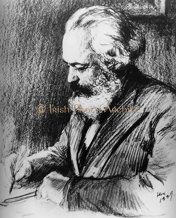 Karl Heinrich Marx (5 May 1818 – 14 March 1883) was a German philosopher, sociologist, economic historian, journalist, and revolutionary socialist. 1870