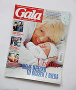 Piotr Gesicki magazine publications Gala Magazine 2003 photography by Piotr Gesicki