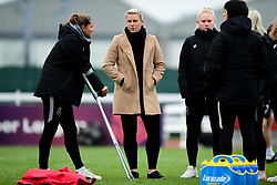 Tanya Oxtoby manager of Bristol City Women and Abi Harrison of Bristol City - Mandatory by-line: Ryan Hiscott/JMP - 24/11/2019 - FOOTBALL - Stoke Gifford Stadium - Bristol, England - Bristol City Women v Manchester City Women - Barclays FA Women's Super League