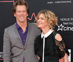 Edinburgh International Film Festival, Thursday 22nd June 2017<br /> <br /> STORY OF A GIRL (WORLD PREMIERE)<br /> <br /> <br /> Kevin Bacon and his wife Kyra Sedgwick arrive on the red carpet<br /> <br /> (c) Alex Todd | Edinburgh Elite media