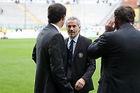 "Massimiliano Allegri Milan Roberto Donadoni Parma<br /> Parma 29/09/2012 Stadio ""Tardini""<br /> Football Calcio Serie A 2012/13<br /> Parma v Milan<br /> Foto Insidefoto Paolo Nucci"
