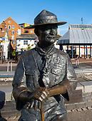 Baden Powell statue 11th June 2020