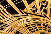 Detail of an Art Deco, gilded bronze grill in the lobby of the Chanin Building contructed in 1929 . . . the metalwork was designed by the American sculptor René Chambellan and by the building's owner/architect, Irwin Chanin.
