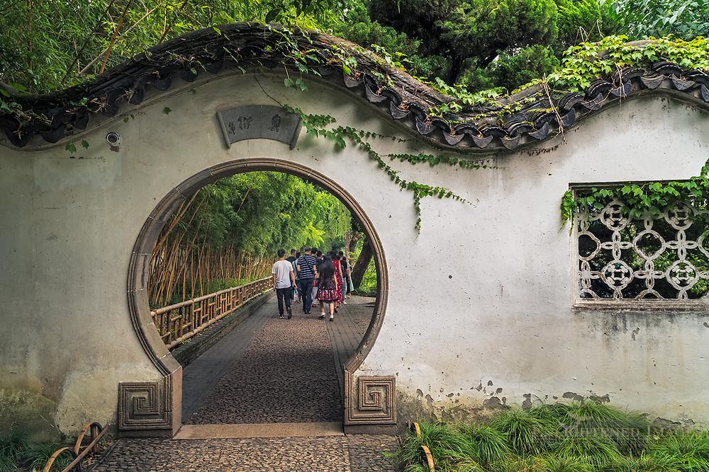 The Humble Administrator Garden, a UNESCO World Heritage Site, Suzhou, jiangsu Province, China