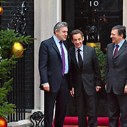 Downing Street Sarkozy/Barroso