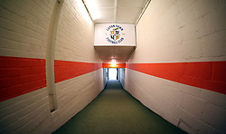 A general view inside the tunnel at Kenilworth Road, home of Luton Town - Mandatory by-line: Joe Dent/JMP - 19/01/2019 - FOOTBALL - Kenilworth Road - Luton, England - Luton Town v Peterborough United - Sky Bet League One