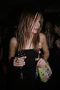Jessica Simon. 'Polo' party  at The Westbury Hotel, Bond Street, London W1 on 26th April 2005.ONE TIME USE ONLY - DO NOT ARCHIVE  © Copyright Photograph by Dafydd Jones 66 Stockwell Park Rd. London SW9 0DA Tel 020 7733 0108 www.dafjones.com