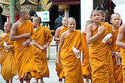 A group of Buddhist Thai Monk