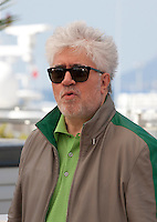 Director Pedro Almodóvar at the Julieta film photo call at the 69th Cannes Film Festival Tuesday 17th May 2016, Cannes, France. Photography: Doreen Kennedy