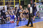 DESCRIZIONE : 5° International Tournament City of Cagliari Dinamo Banco di Sardegna Sassari - Galatasaray<br /> GIOCATORE : Stefano Sardara Paolo Taurino<br /> CATEGORIA : Fair Play Arbitro Referee Delusione<br /> SQUADRA : Dinamo Banco di Sardegna Sassari<br /> EVENTO : 5° International Tournament City of Cagliari<br /> GARA : Dinamo Banco di Sardegna Sassari - Galatasaray Torneo Città di Cagliari<br /> DATA : 19/09/2015<br /> SPORT : Pallacanestro <br /> AUTORE : Agenzia Ciamillo-Castoria/L.Canu