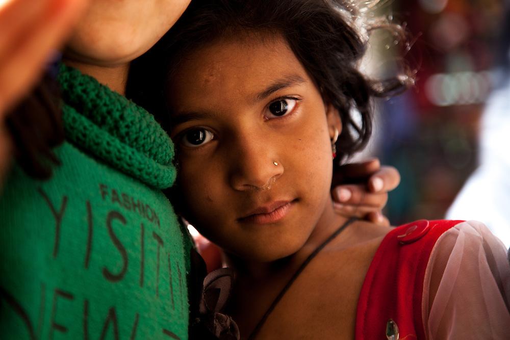 A street beggar in Thamel, Kathmandu, Nepal