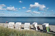 Sierksdorf au bord de la mer Baltique, Allemagne