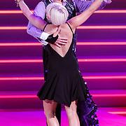 NLD/Hilversum/20120916 - 4de live uitzending AVRO Strictly Come Dancing 2012, Arjan Ederveen met danspartner Janneke Vermeulen