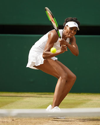 VENUS WILLIAMS (USA)<br /> <br /> Tennis - Wimbledon 2017 - Grand Slam ITF / ATP / WTA -  AELTC - London -  - Great Britain  - 13 July 2017.