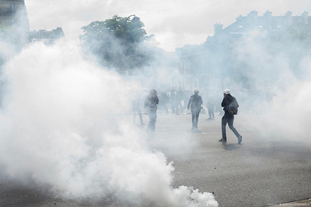 Manifestation contre la loi travail El Khomri - Paris, 26 mai 2016