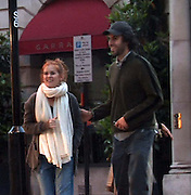 11.JUNE.2009 - LONDON<br /> <br /> SACHA BARON COHEN AKA BRUNO AND HIS WIFE ISLA FISHER WALKING DOWN NEW BOND STREET LAUGHING AND SMILING AND WHEN THEY NEW THEY HAD BEEN SPOTTED THEY TURNED AWAY AND TRIED TO HIDE THEIR FACES AS THEY RAN DOWN THE STREET AND INTO A NEAR BY HOTEL.<br /> <br /> BYLINE: EDBIMAGEARCHIVE.COM<br /> <br /> *THIS IMAGE IS STRICTLY FOR UK NEWSPAPERS AND MAGAZINES ONLY* <br /> *FOR WORLDWIDE SALES AND WEB USE PLEASE CONTACT EDBIMAGEARCHIVE - 0208 954 5968*