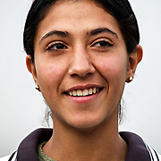 14 January 2004.Baghdad, Iraq..Olympic hopefulls..Pictures to accompany piece by CATHERINE PHILP on the olympics. Scheduled to run Saturday..Sprinter Rasha Yasim Abid aged 18.